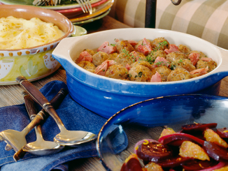 Cook like it's summer. Grill some meat on the stovetop. Make potato, macaroni, and pasta salads. Eat like it's the dog days of summer instead of the dead of winter.