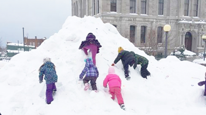 Warm-Up Oswego will take place Feb 3-4. The festival brings out neighbors and friends for winter fun.