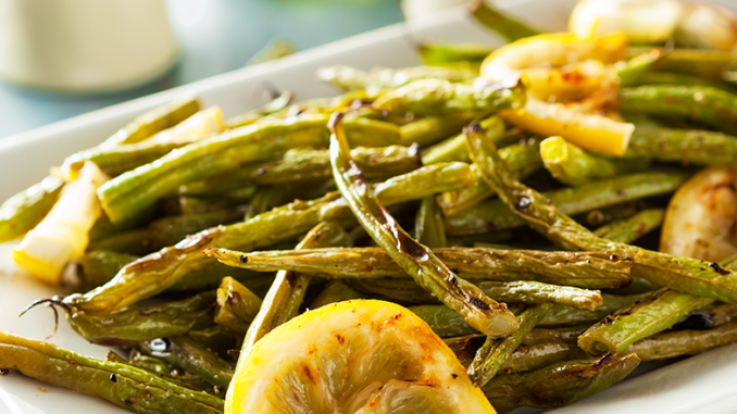 Roasted green bean