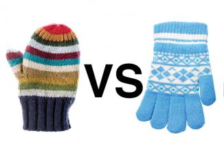 mittens vs gloves