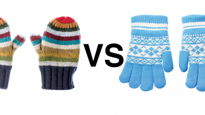 mittens vs gloves