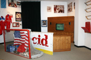 View artifacts from the 1932 and 1980 Winter Olympic Games at Lake Placid Olympic Museum.