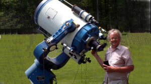 Bob Piekiel, a member of the Central New York Observers and Observing, has written as many as 10 books and publications on telescope design, telescope history and certain accessories.