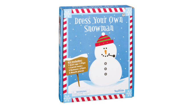 Snow toys box snowman kit